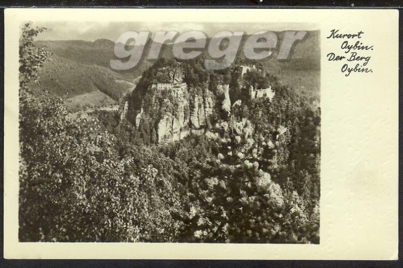 AK DDR Der Berg Oybin   33/8