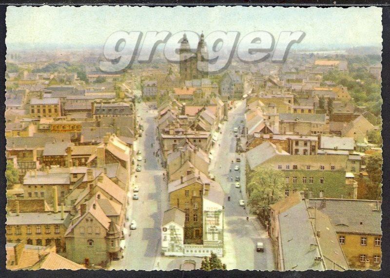 AK DDR Wittenberg, Blick vom Turm der Schlosskirche   33/48