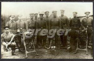 Foto,  Soldaten Gruppenbild von 1918   33/25