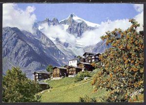 AK Schweiz,  Ried von Süden mit Wannehorn   37/43