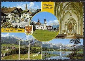 AK Österreich,  Seefeld Tirol Mehrbildkarte   38/47