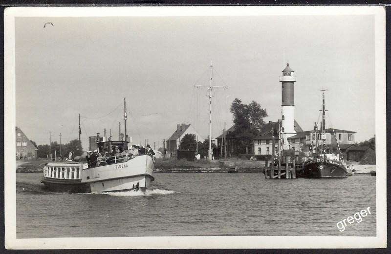 Foto  eines Hafens Insel Poel  Schiffsausflug mit der Eldena    44/21