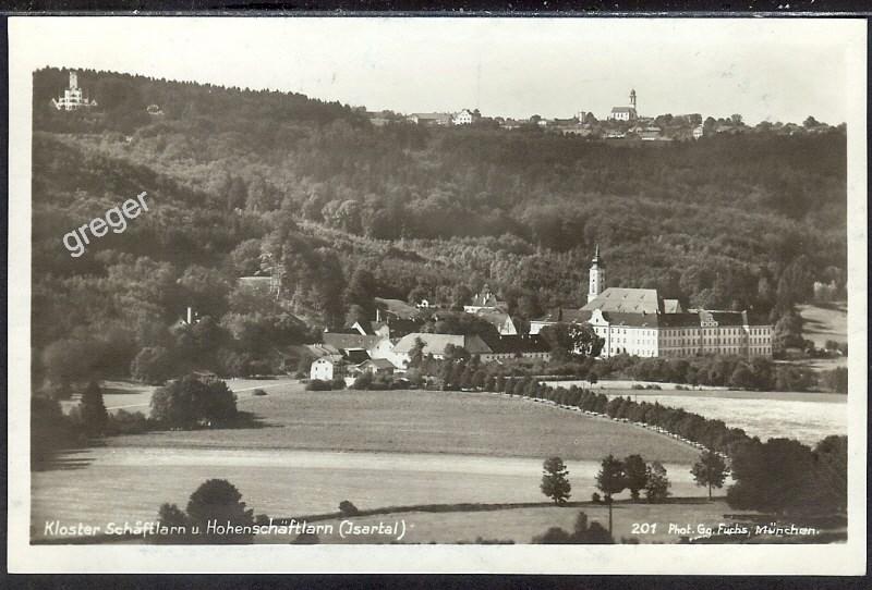 AK Deutsches Reich Kloster Schäftlarn u. Hohenschäftlarn   45/12