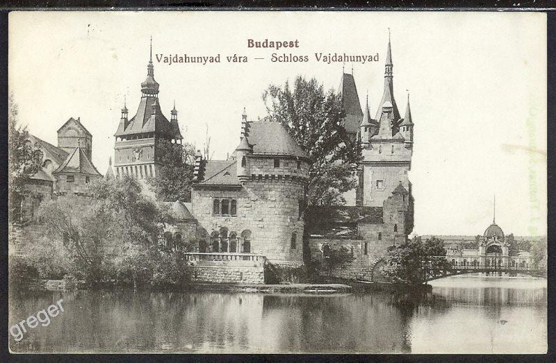 AK Ungarn, Budapest, Schloss Vajdahunyad   45/27