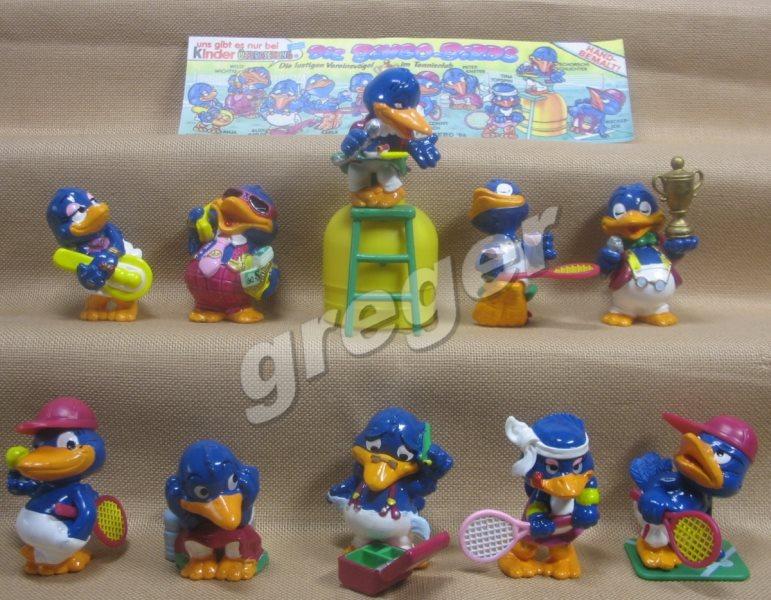 Komplettsatz  Die Bingo Birds von 1996