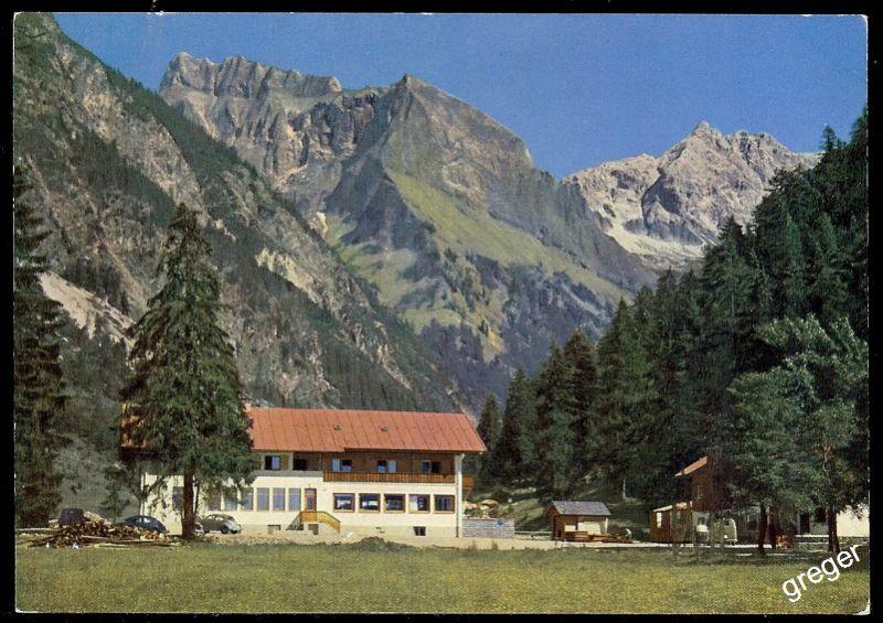 AK Oberstdorf Allgäu, Oytalhaus   70/23