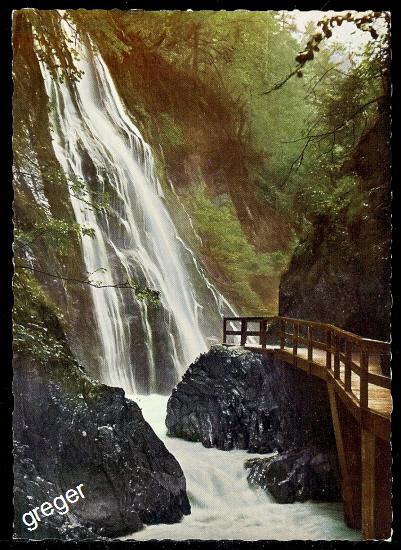 AK Wasserfall in der Wimbachklamm    73/38