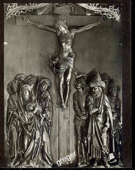 AK Rothenburg, Tilman-Riemenschneider- Altar       74/43