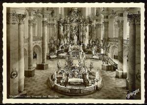 AK Bad Staffelstein, Inneres der Basilika Vierzehnheiligen    75/20