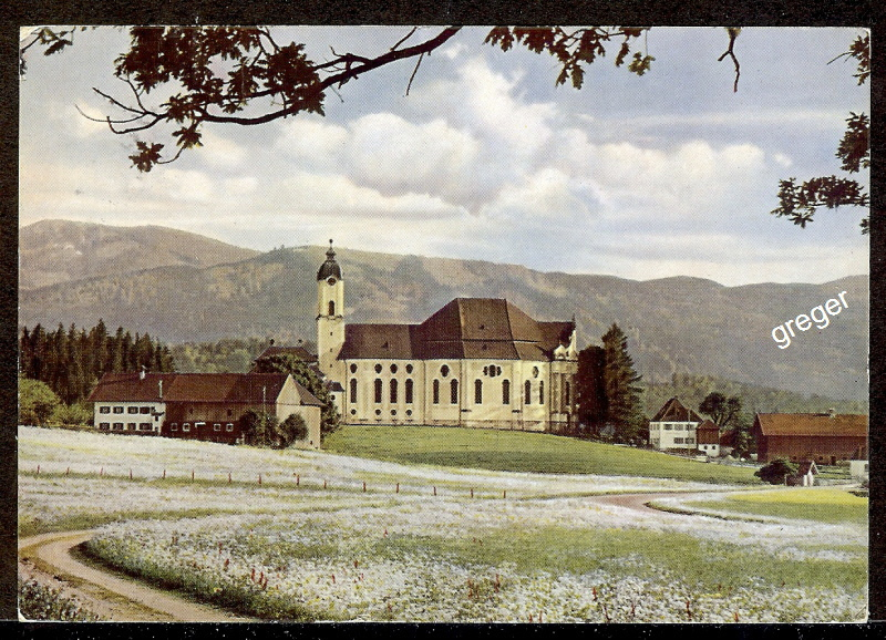 AK  Steingaden, Wallfahrtskirche Die Wies    75/26