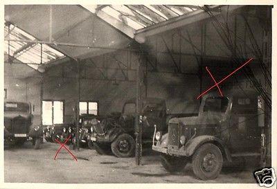 originalfoto 9x6cm, mercedes-benz vertragswerkstatt spanien, ca
