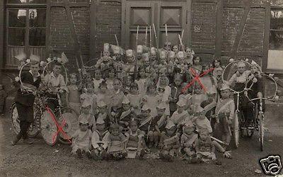 Originalfoto 9x13cm, Kinderfest in Essen, 1925