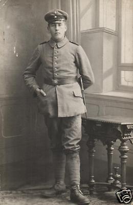 Originalfoto 9x13cm, Soldat, Inf. Regt. 17, Freiburg i.B. ca. 1918