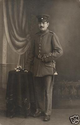 Originalfoto 9x13cm, Soldat, Neu-Isenburg, ca. 1915