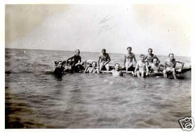 Originalfoto 6x9 nackte Soldaten, naked soldiers, Vintage Gay