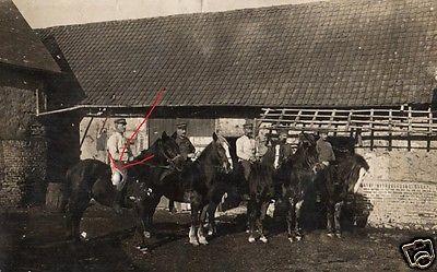 Originalfoto 9x13cm, berittene Soldaten, 1916