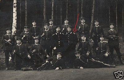 Originalfoto 9x13cm, Soldaten Leib Grenadier Regiment 100, 1912
