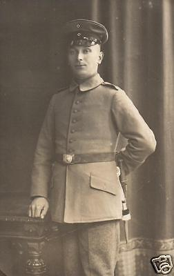 Originalfoto 9x13cm,  Wittenberger Soldat, ca. 1915