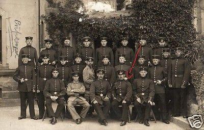 Originalfoto 9x13cm, Soldaten Oberrhein. Inf. Rgt. 60, Zabern, 1915