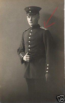 Originalfoto 9x13cm, Soldat Inf. Rgt. 77, ca. 1915