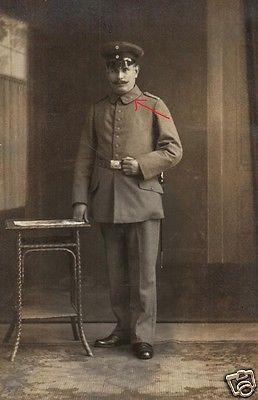 Originalfoto 9x13cm, Soldat Inf. Rgt. 19, Delmenhorst, ca. 1915