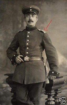 Originalfoto 9x13cm, Karlsruher Soldat, ca. 1915