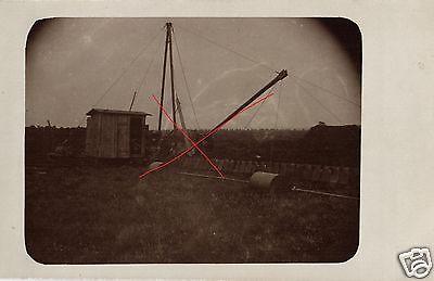 Originalfoto 9x13cm, alte Feldrodungsmaschine, ca. 1910