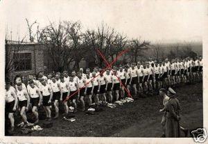 Originalfoto 9x6cm, Soldatensport
