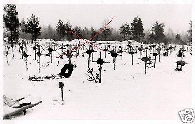 Originalfoto 9x13cm, Deutscher Soldatenfriedhof Tortolowo, 1942