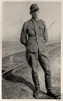 Originalfoto 9x13cm, Leutnant, ca. 1943