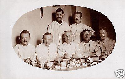 Originalfoto 9x13cm, Verwundete Lazarett Magdeburg