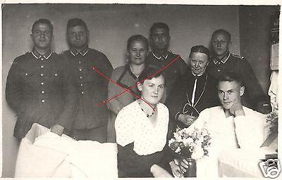 Originalfoto 9x13cm, Hochzeit Bückeburger Jäger im Lazarett