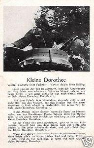 Liedkarte, Kleine Dorothee