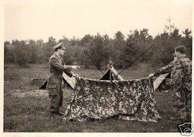 Originalfoto 7x10cm, Heeresflieger Faßberg, Ausbildung, ca. 1957