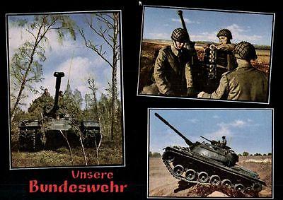 Foto AK, Unsere Bundeswehr, Panzer, ca. 1968