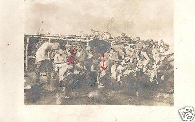 Originalfoto 9x13cm, Deutsche Soldaten beim Entlausen