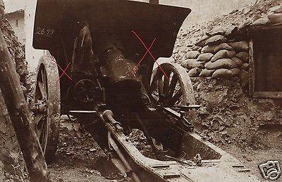 Originalfoto 9x13cm, Deutsches Artilleriegeschütz in Stellung