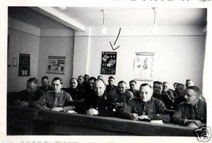 2 Originalfoto 9x6cm, Soldaten, Fahrschule