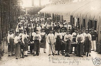 Originalfoto 9x13cm, Soldaten beim Waffenreinigen Übungsplatz Königsbrück