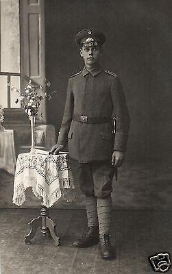 Originalfoto 9x13cm, Soldat Inf. Regt. 9 Rendsburg, ca. 1917