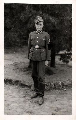 Originalfoto 9x13cm, Soldat, ca. 1944