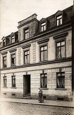 Originalfoto 9x13cm, Wohnhaus Dresden, ca. 1910