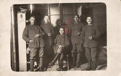 Originalfoto 9x13cm, Soldaten, Schreibstube, 14.1.1918
