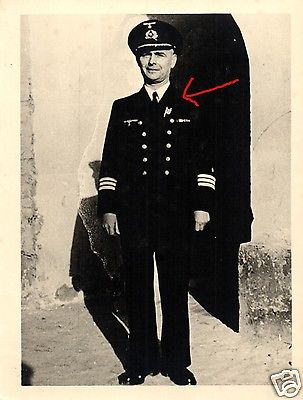 Originalfoto 9x12cm, Marine, Korvettenkapitän