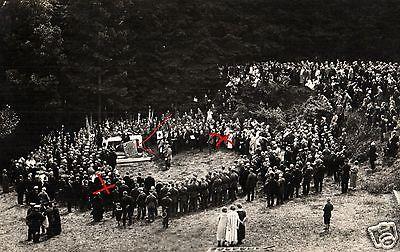 Originalfoto 9x13cm, Feldgottesdienst, Veteranen Inf. Regt. 55 Höxter