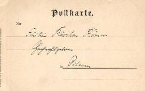 Künstlerkarte Aus A. Hendschel' s Skizzenbuch, ca. 1900