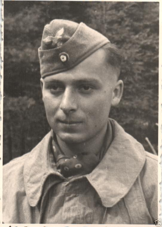 Originalfoto 7x10cm, Luftwaffe, Fieger, Pilot, Pöking Sommer 1941