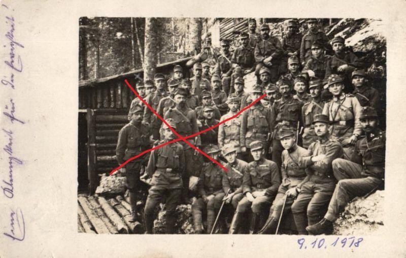Originalfoto 9x13cm, KuK, Kaiserjäger, 1918