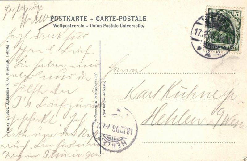 Foto AK, Weida, Blick a. d.  Schloss, 1906 1