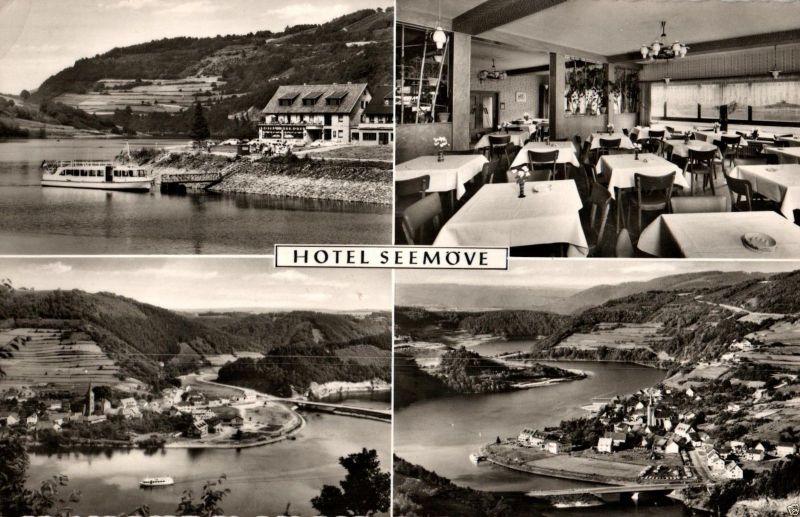 Foto AK, Monschau, Hotel Seemöve, 1961 0